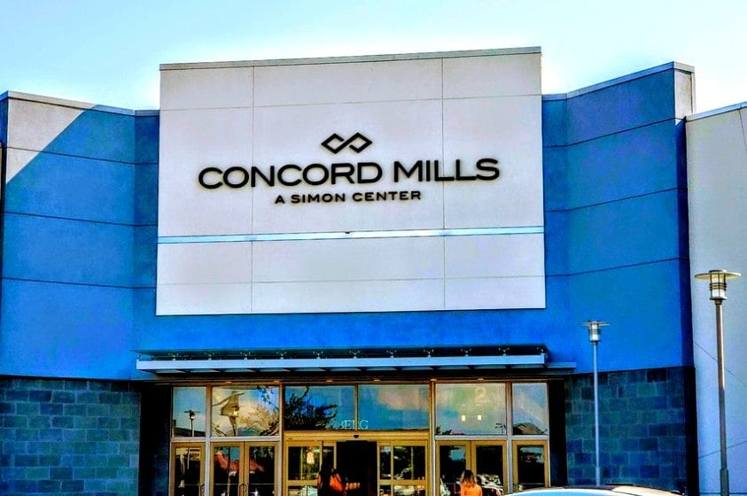 Concord Mills Mall, NC