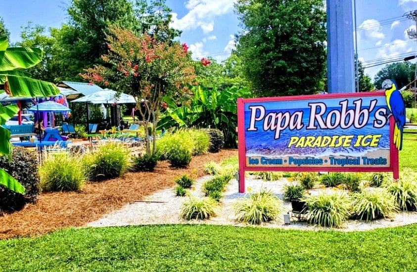 Papa Robb's Paradise Ice, Concord, North Carolina