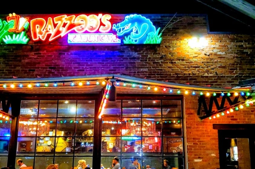 Razoo's Cajun Cafe in Concord, North Carolina