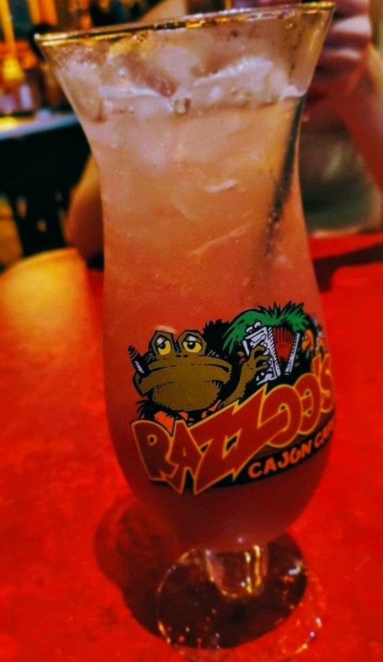 lemonade at Razoo's Cajun Cafe Concord NC
