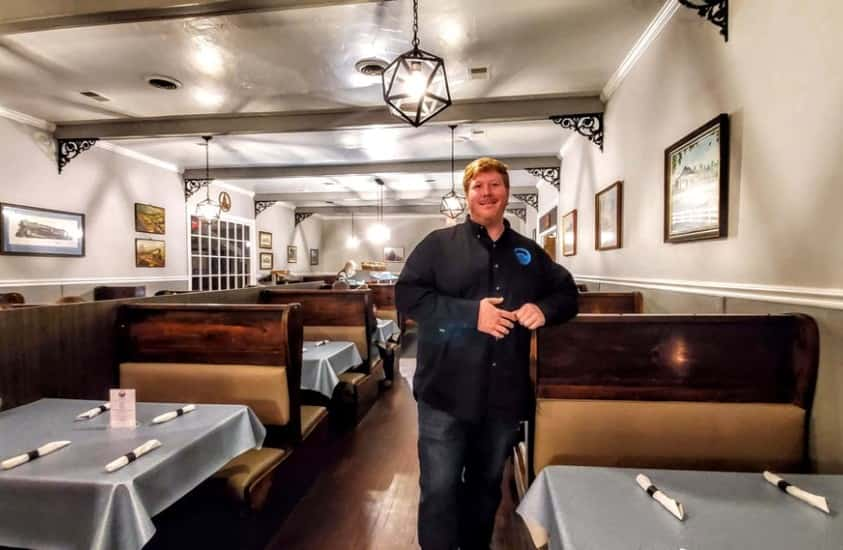 Bryan Day Owner Of Clarksville Station Restaurant In Roxboro, NC