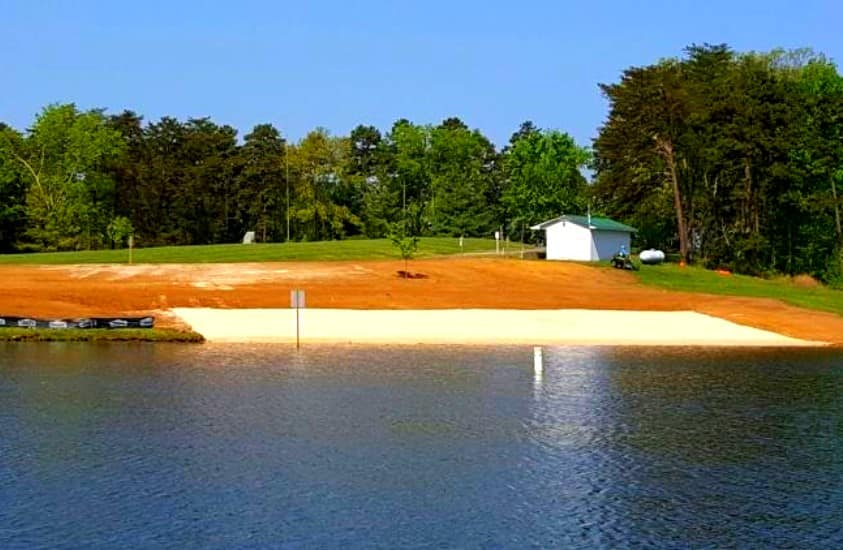 Sandy Beach at Hyco Lake, Roxboro, NC
