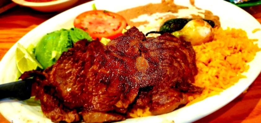 Carne Asada from La Cocina in Roxboro, NC