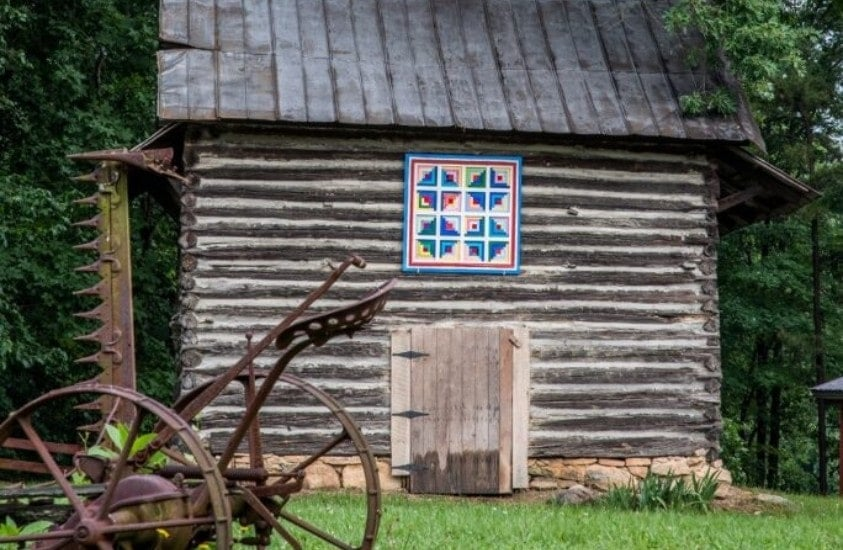 Person Country Barn Quilt Trail 1