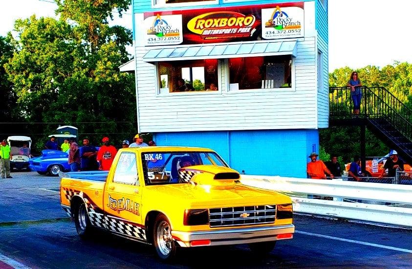 Racecar at Roxboro Motorsports Park