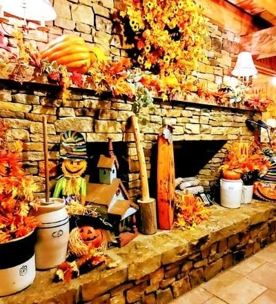 Fall Decor at Homestead Steakhouse