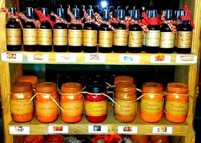 Jams and Jellies from Yoder's Country Market, Roxboro, NC