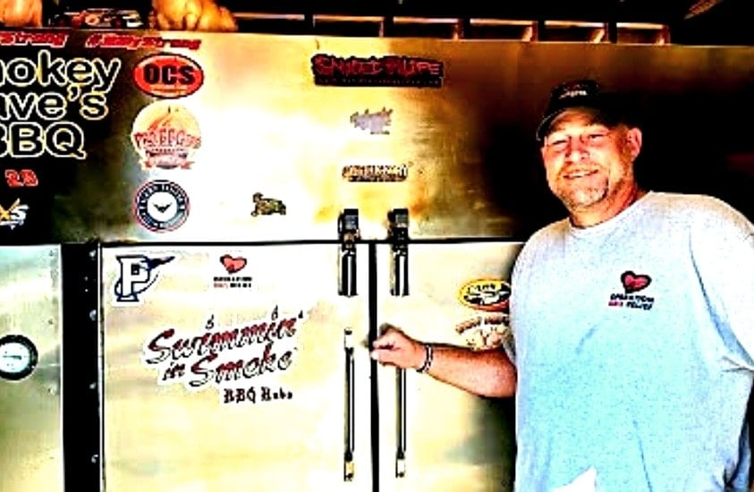 Owner of Smokey Dave's BBQ by Smoke Pit In Roxboro, NC