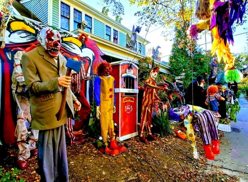 Historic Oakwood Halloween, Raleigh, NC 35