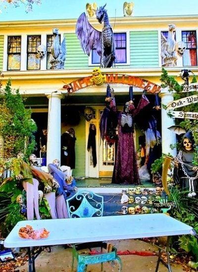 Raleigh's Historic Oakwood Neighborhood At Halloween – A Photo Tour