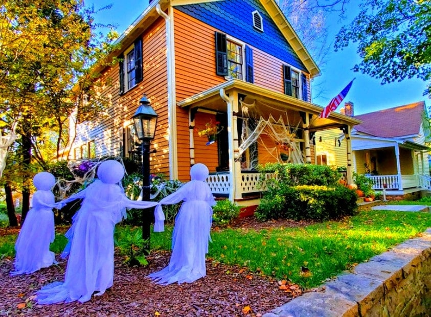 Historic Oakwood Halloween, Raleigh, NC 45