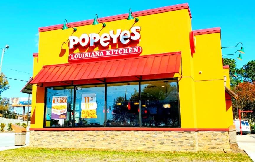 Popeye's Restaurant Raleigh