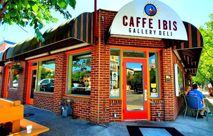 Caffe Ibis coffee shop and cafe in Logan, Utah