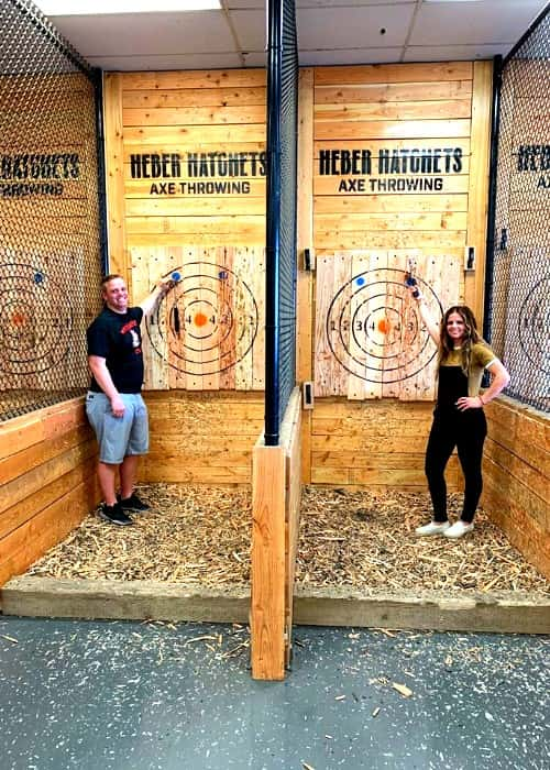 Axe Throwing Logan Utah