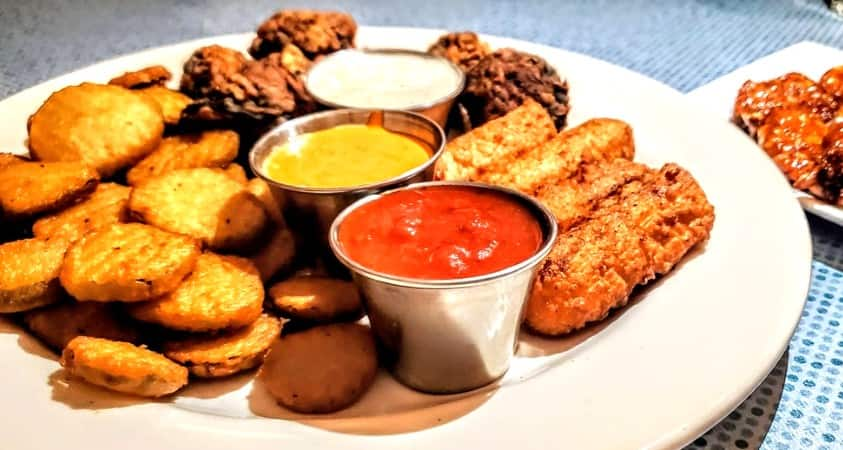 Appetizer Platter at Clarksville Station by Bryan Day