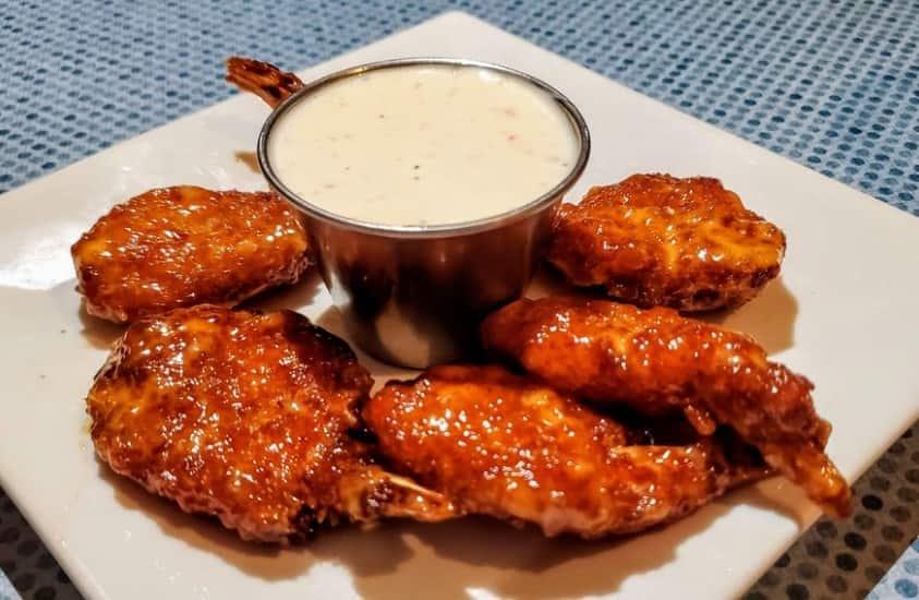 Clarksville Station Restaurant Firecracker Shrimp with Ranch Dip