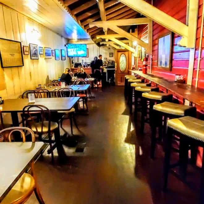 Full Bar at Clarksville Station in Roxboro, NC
