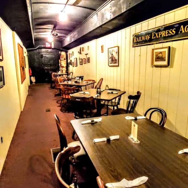 Train Car Dining Room Clarksville Station Roxboro, NC