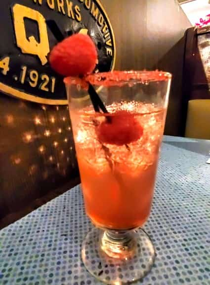 Raspberry Kiss Cocktail by Bryan Day Clarksville Station