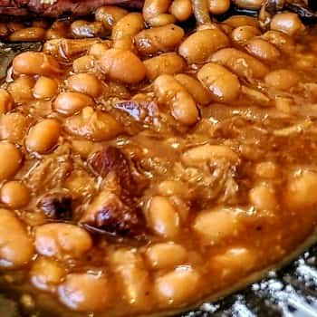 BBQ Beans From Smokey Dave's Restaurant