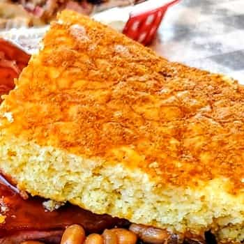 Corn Bread From Smokey Dave's BBQ