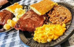BBQ Ribs Plate from Smokey Daves BBQ in Roxboro, NC