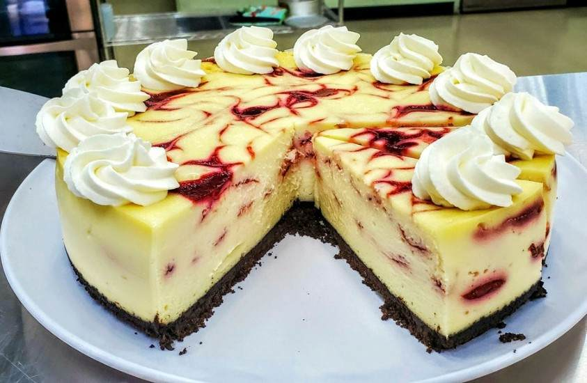 Strawberry Cheesecake Custom Confections Cary NC