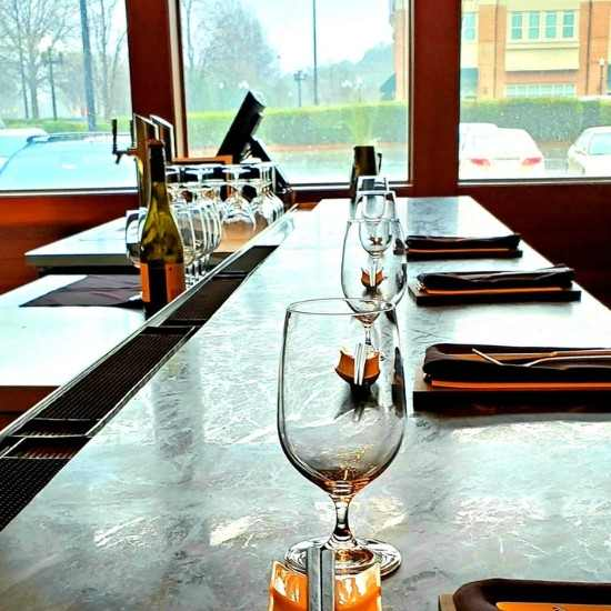 Bar Seating at Koan Asian Cuisine in Cary, NC
