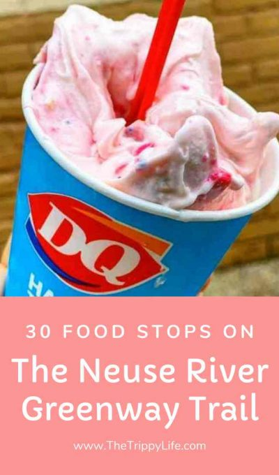 30 Places To Eat On The Neuse River Greenway Trail