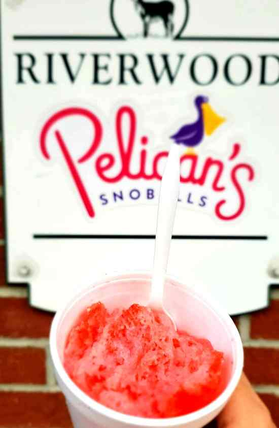 Pelican's Snoballs of Riverwood Raleigh NC