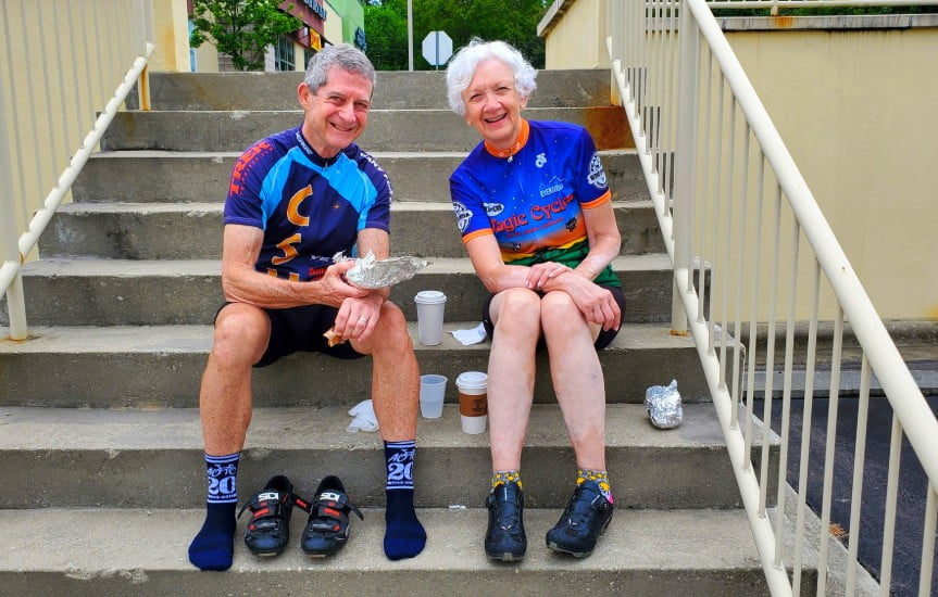 Cycling To Stay Fit Like This Senior Couple That Bikes 100 Miles A Week