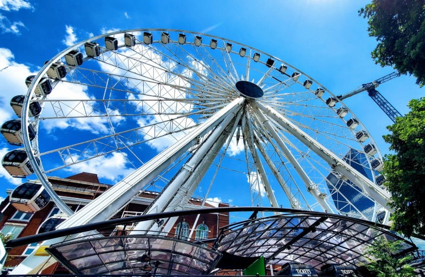 Sky Wheel Olympic Park Atlanta, Ga