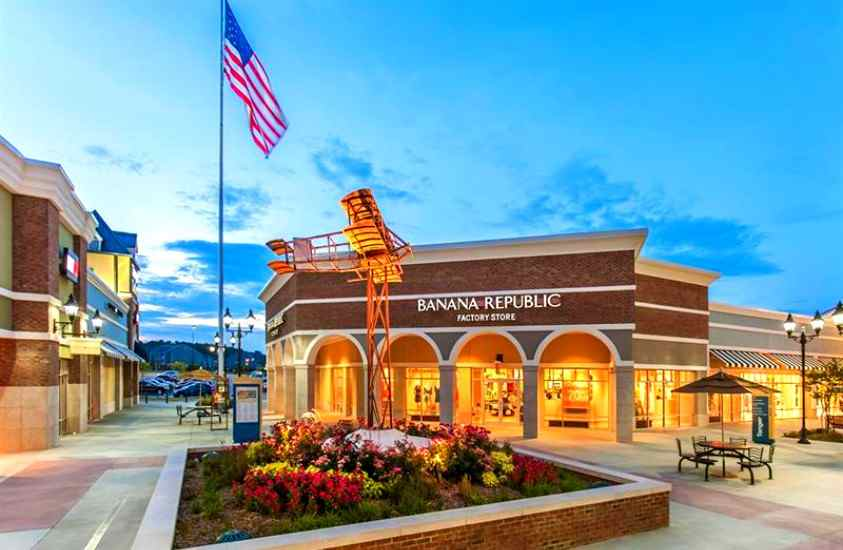 Places to shop along I-85Tanger Outlets Mebane, NC