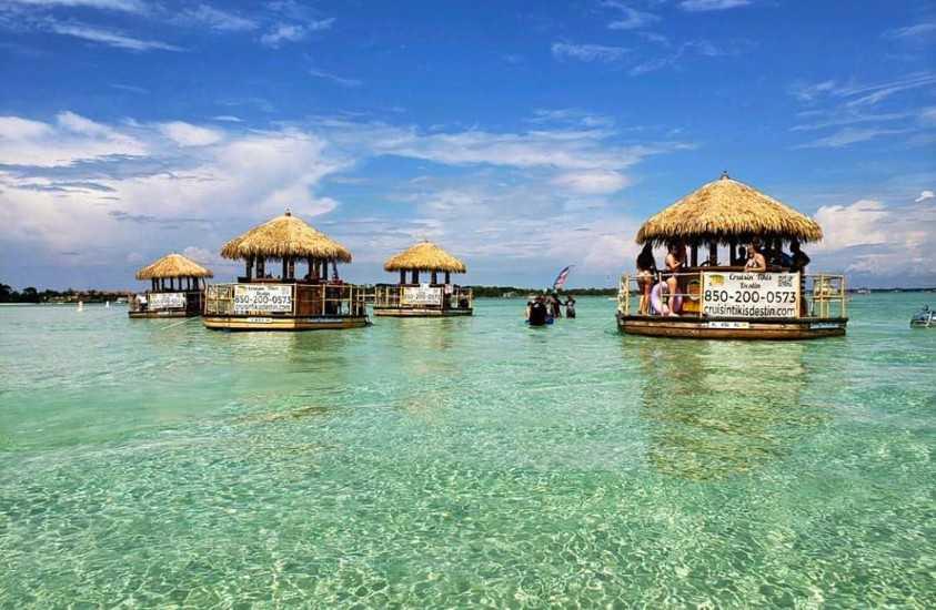 Destin Boat Rentals Crab Island Destin Florida