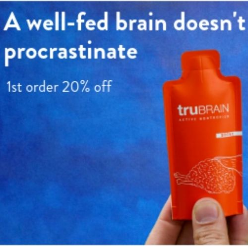 TruBrain Best Energy Drink To Stay Awake