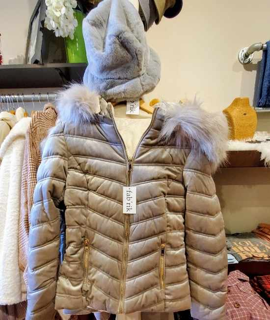 Coat at fabrik store in raleigh nc
