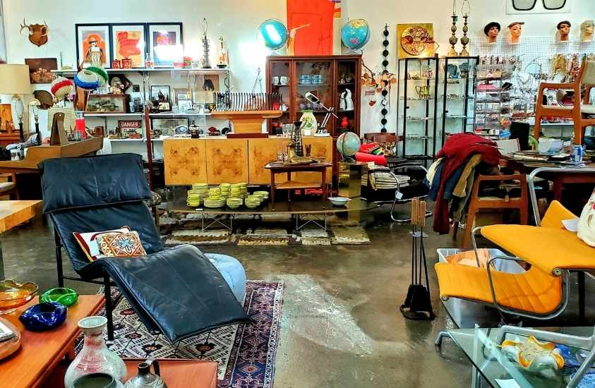 Father's and Son's Thrift Store in downtown Raleigh