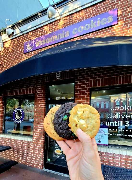 Insomnia Cookies Raleigh Shopping NC