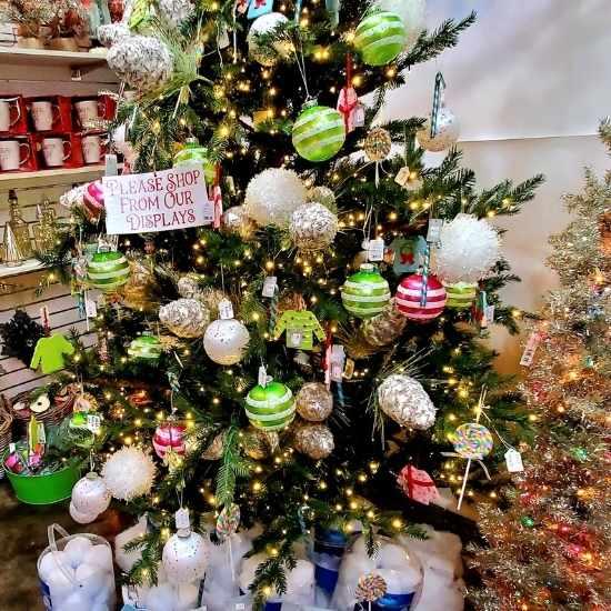 Logan's One Stop Garden Shop Christmas Tree