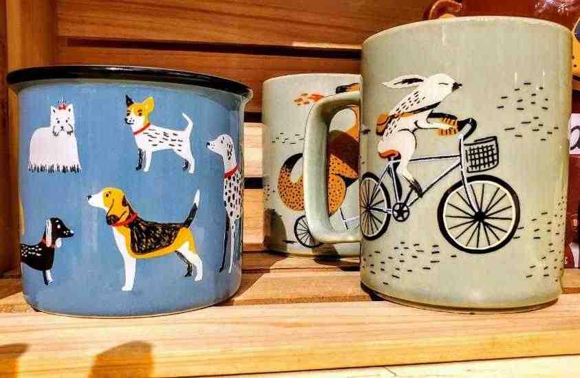 NOFO at The Pig Raleigh Gift Shop NC mugs