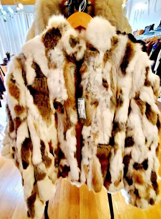 Revolver Consignment Shop Fur Coat Downtown Raleigh NC