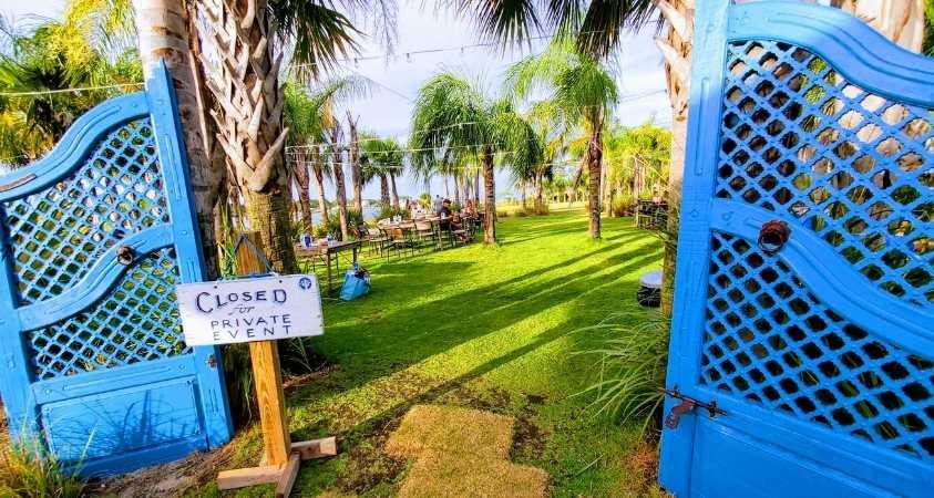 Wedding events at The Gulf Okaloosa Island Florida