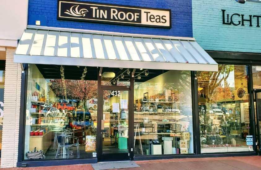 Tin Roof Teas Cameron Village Raleigh, NC