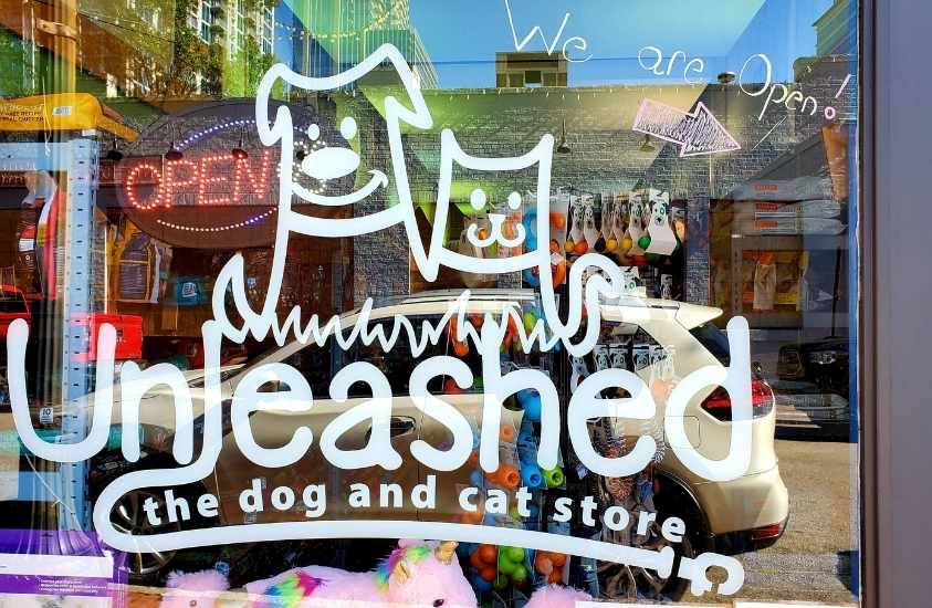 Unleased Dog and Cat Store Raleigh Shopping NC