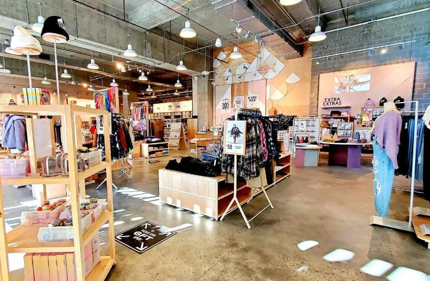 Urban Outfitters downtown Raleigh shopping nc