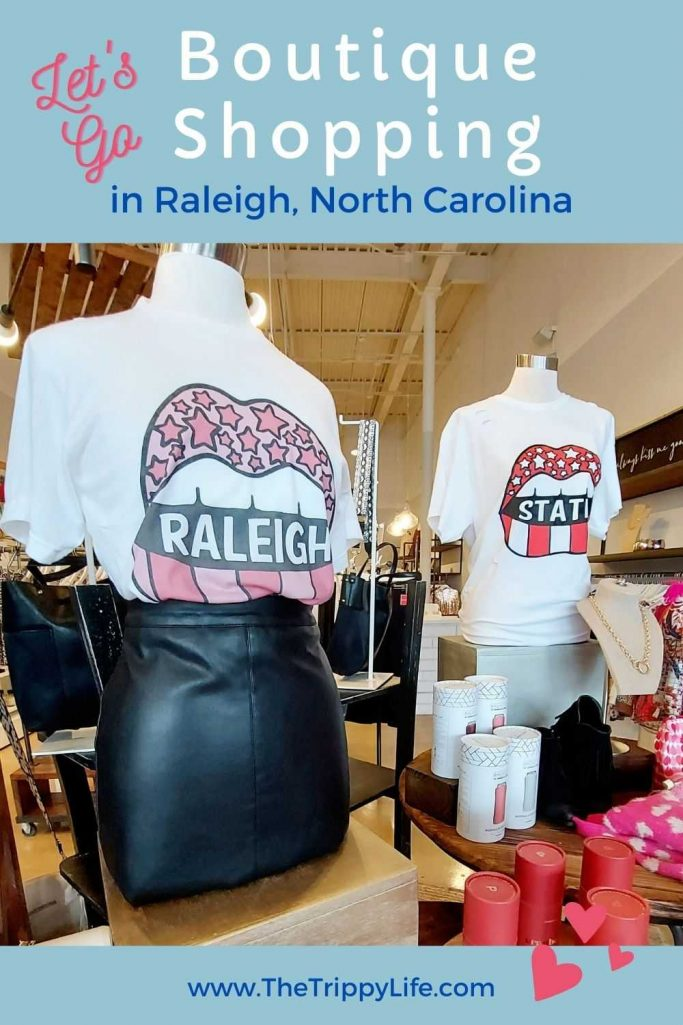 Boutique Shopping In Raleigh, NC Pinterest Pin