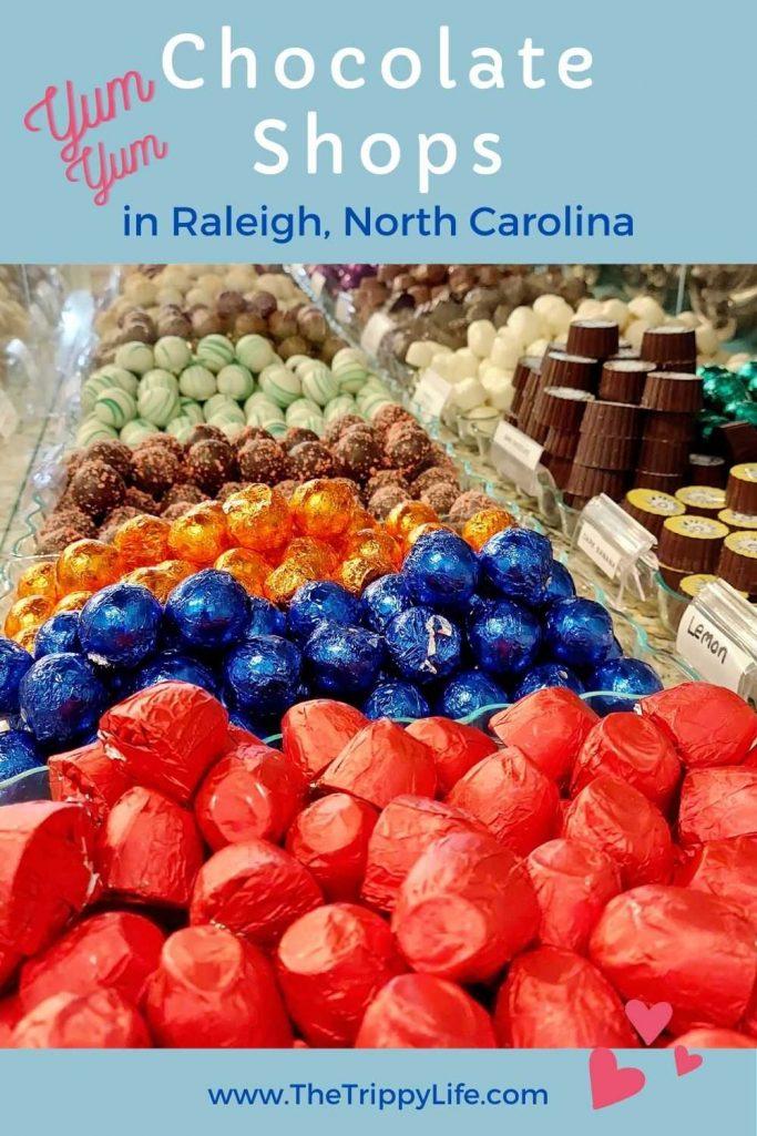 Chocolate Raleigh NC Pinterest