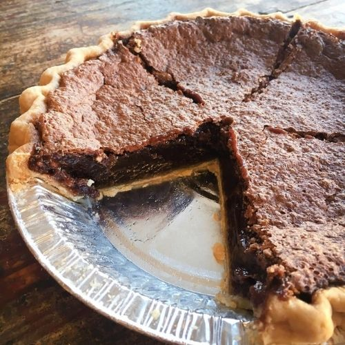 Chocolate Pie from Bakery la dolce vita in Raleigh, NC