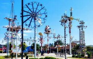 Whirligig Station Park Wilson NC